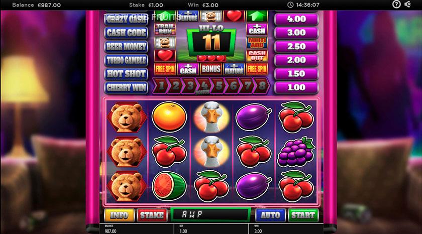 ted pub fruit bonus feature