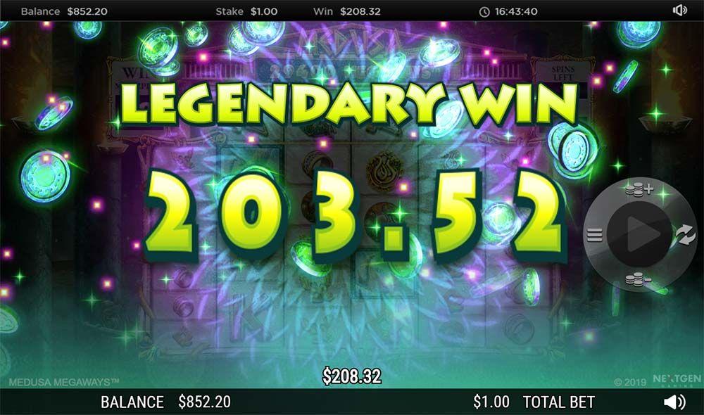 medusa megaways big win