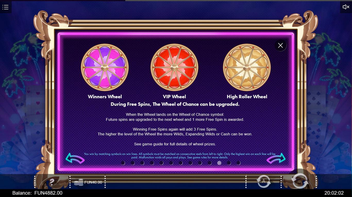 richie in vegas bonus features