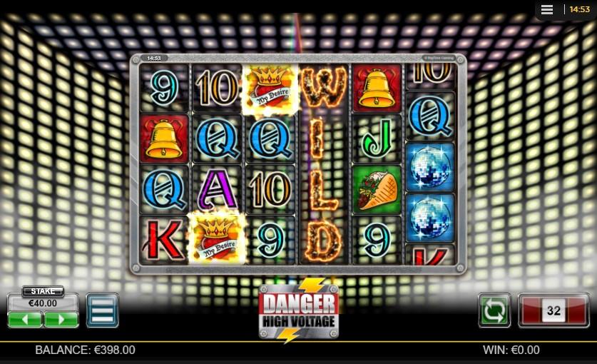 Danger High Voltage Slot gameplay