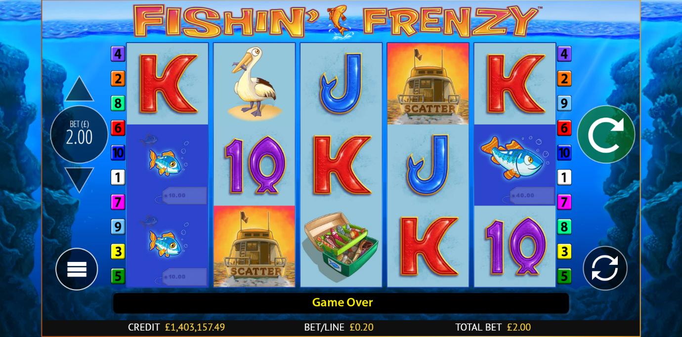Fishin' Frenzy Free Play