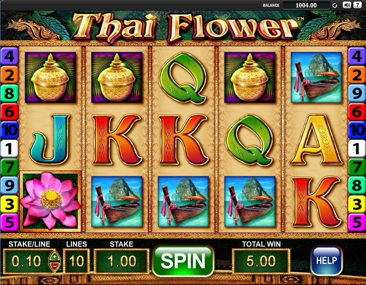 thai flower free spins