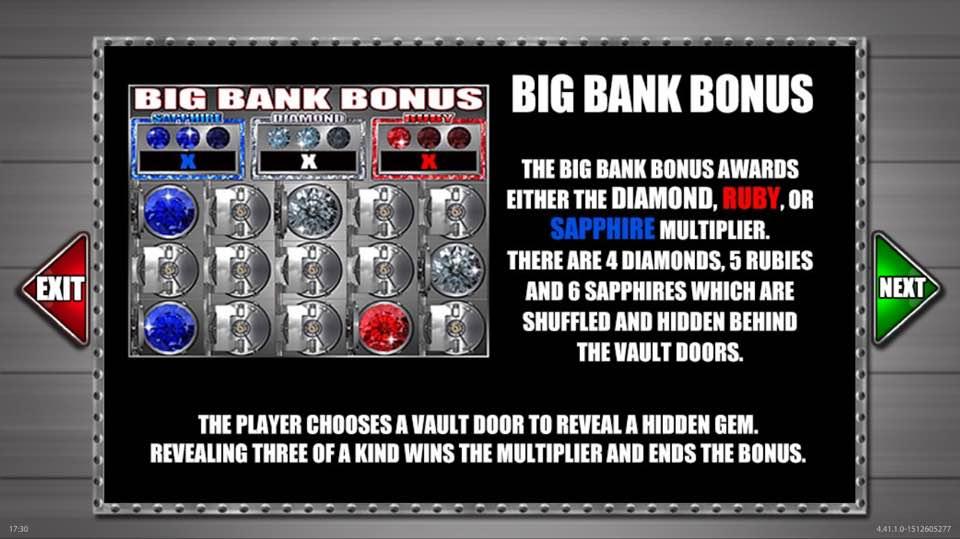 action bank big bank bonus