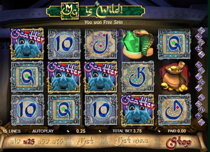 Millionaire Genie Free Spins