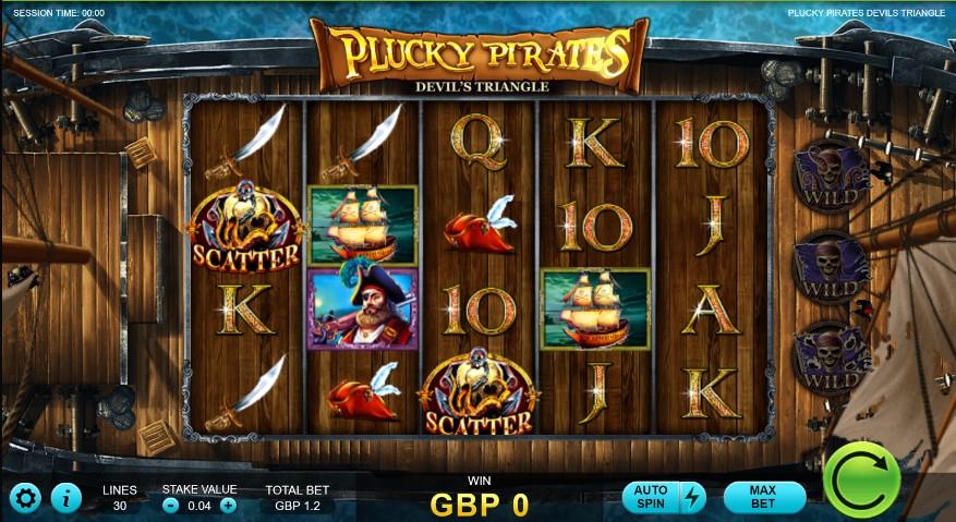 Plucky Pirates: Devil's Triangle