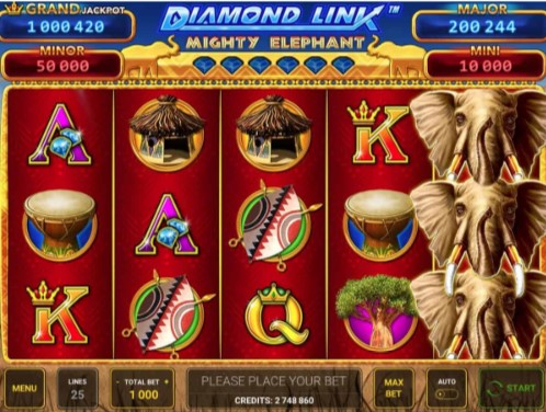 Diamond Link: Mighty Elephant