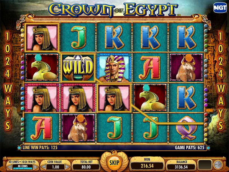 crown of egypt bonus features