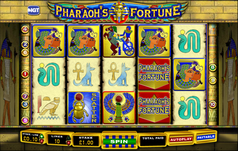 pharaoh's fortune free play
