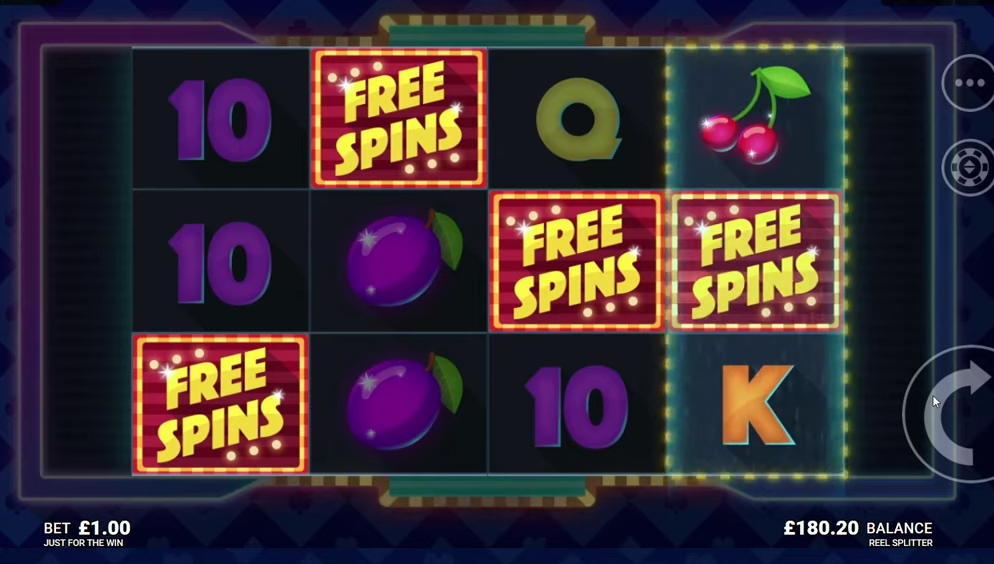 Reel Splitter Free Spins