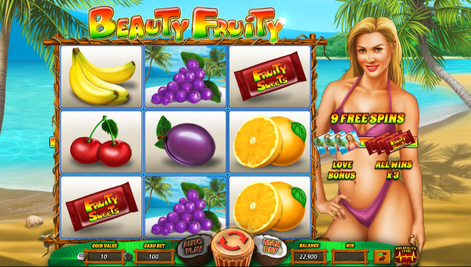 Beauty Fruity Gameplay