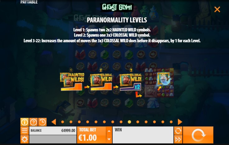 Play Ghost Glyph slots