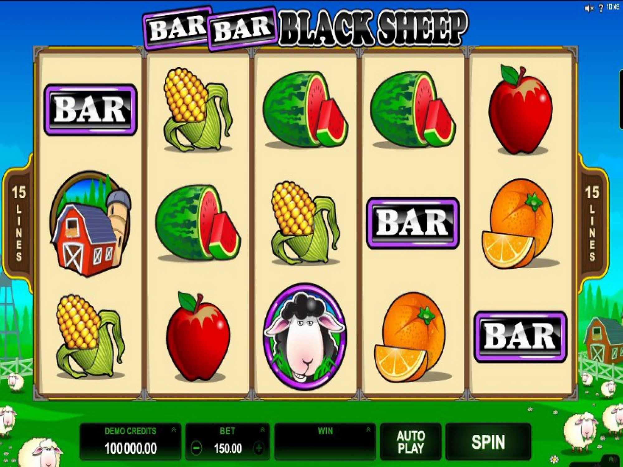 bar bar black sheep slots