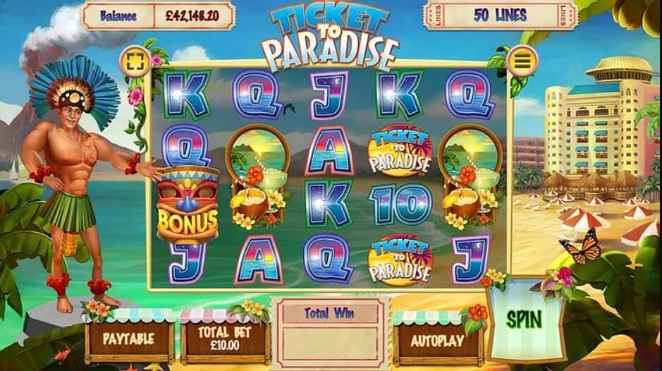 ticket to paradise slot
