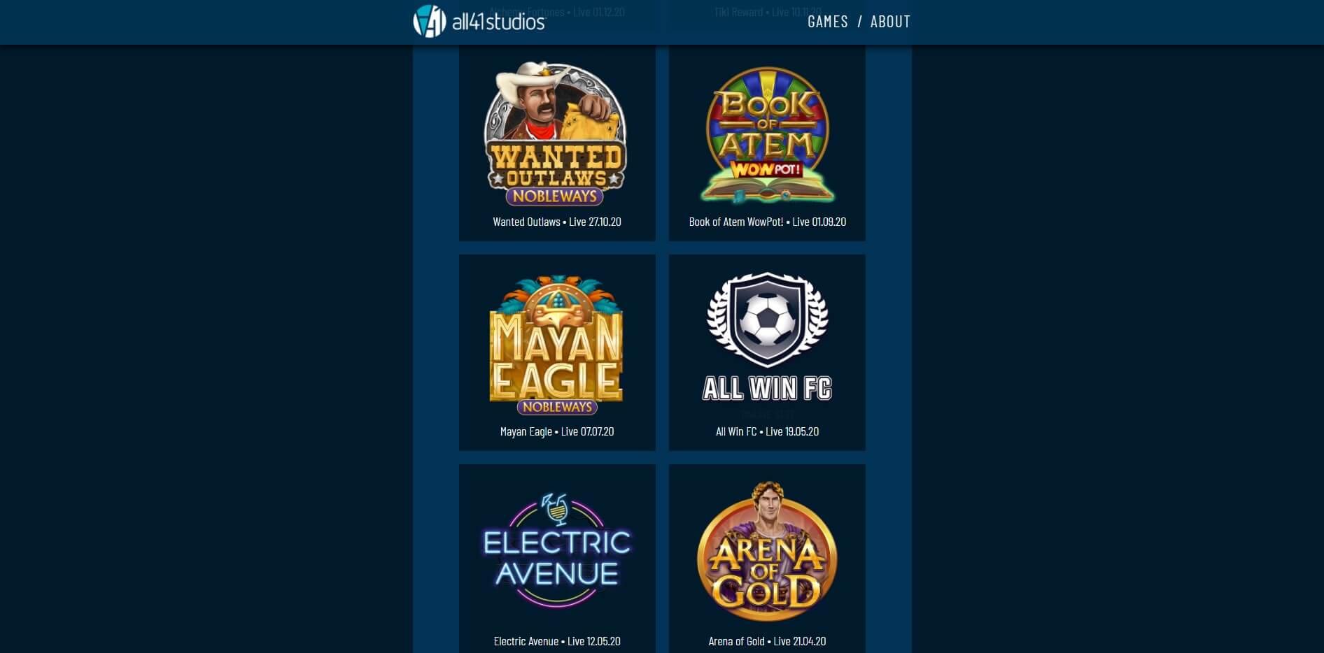 all41 studios slots