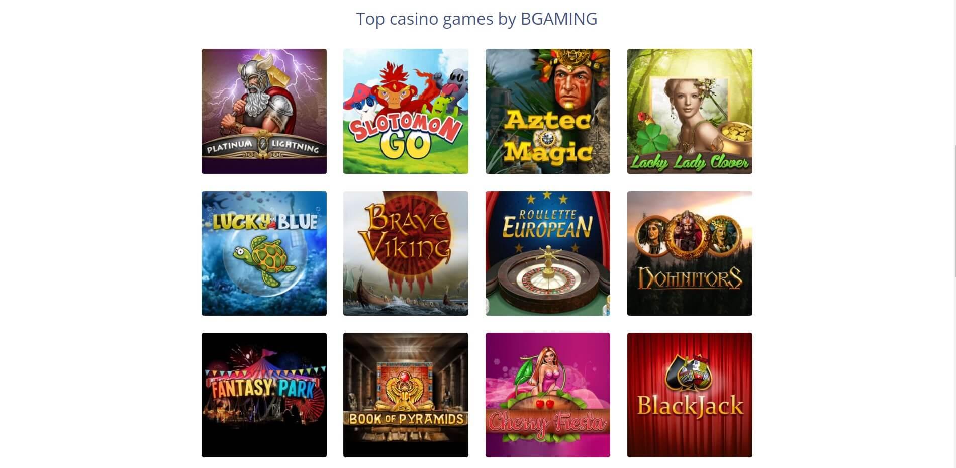 bgaming games