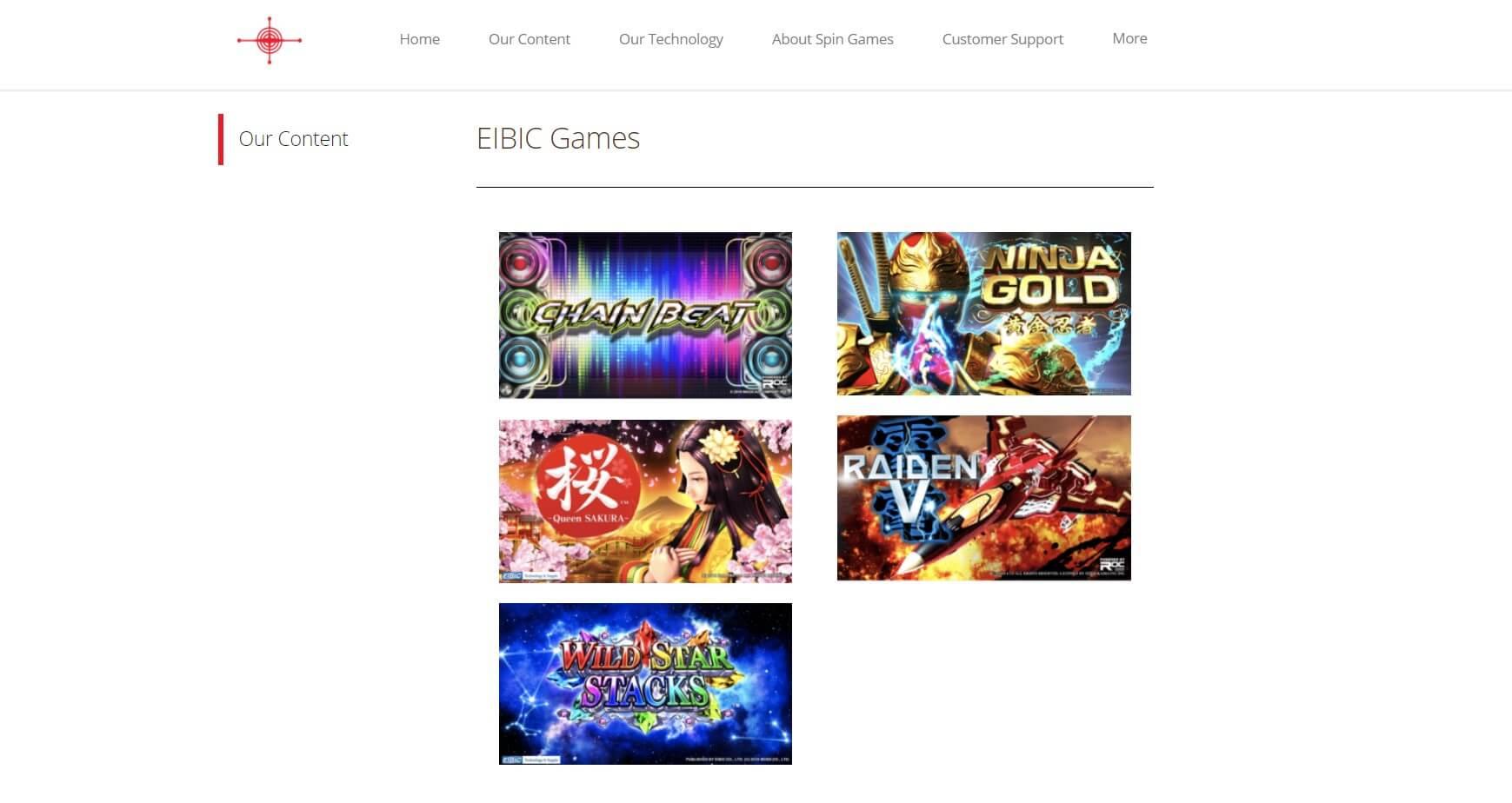 EIBIC Games