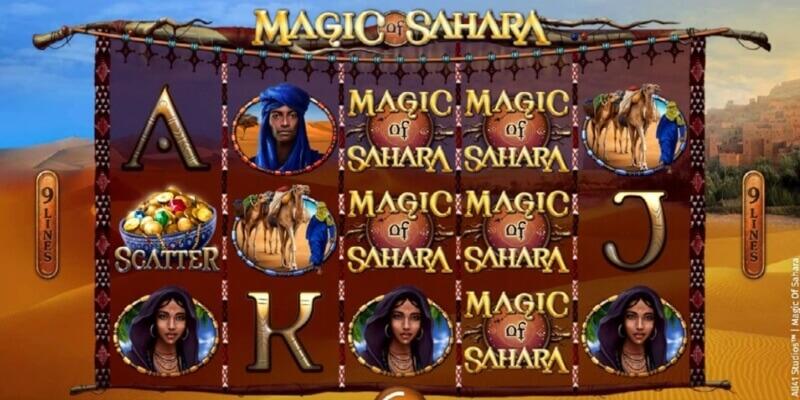 magic of sahara slot