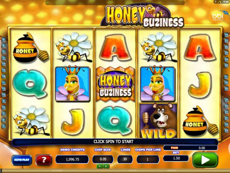 honey buziness slot