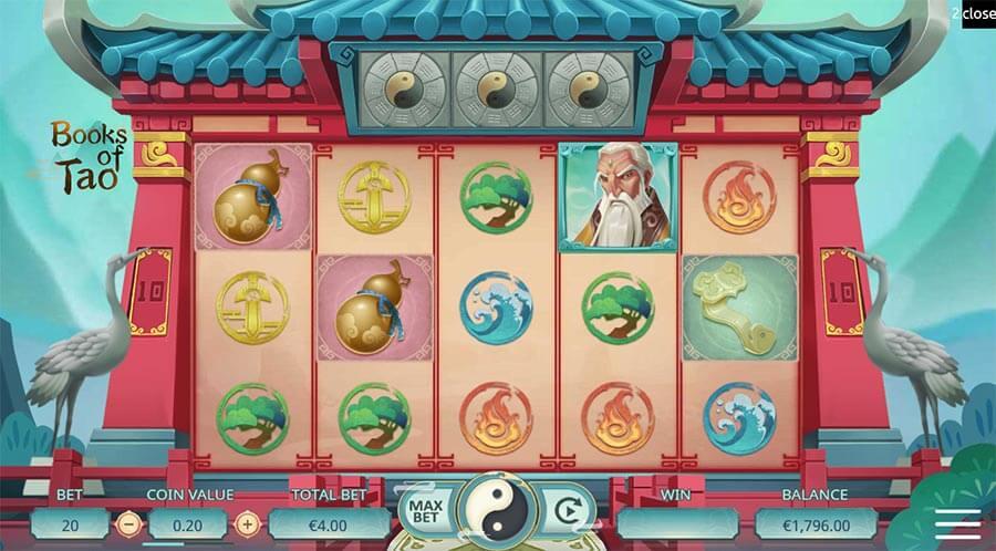 books of tao slot