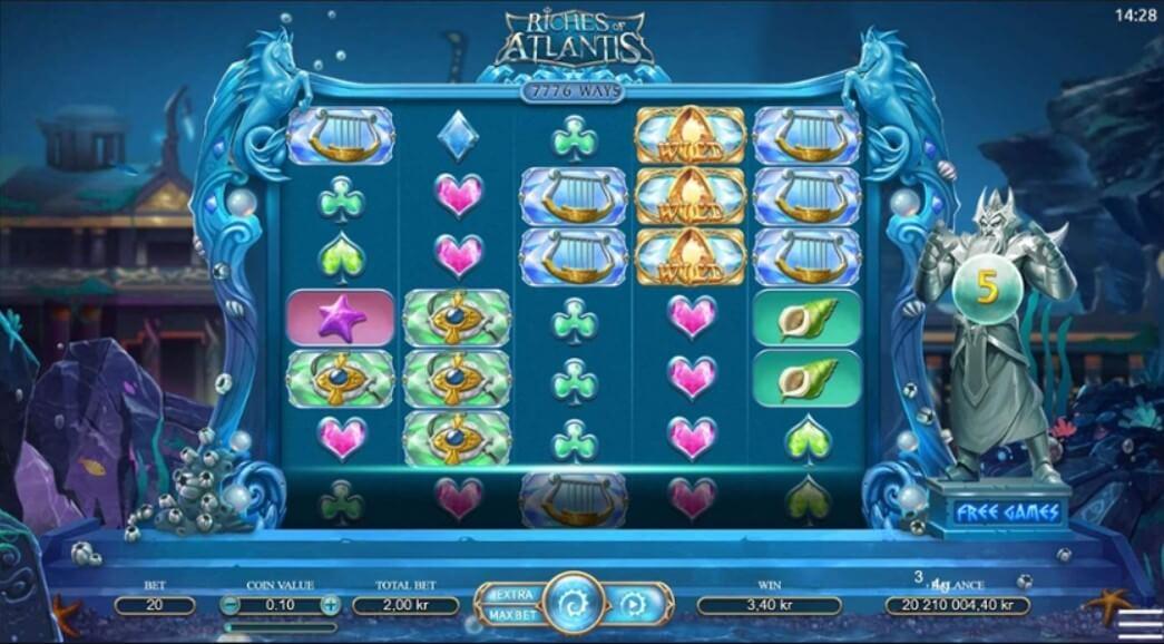 riches of atlantis slot
