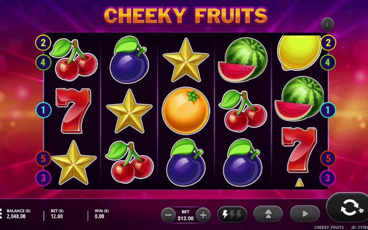 cheeky fruits slot