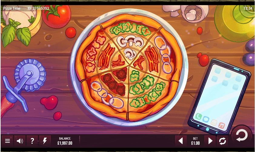 pizza time slot