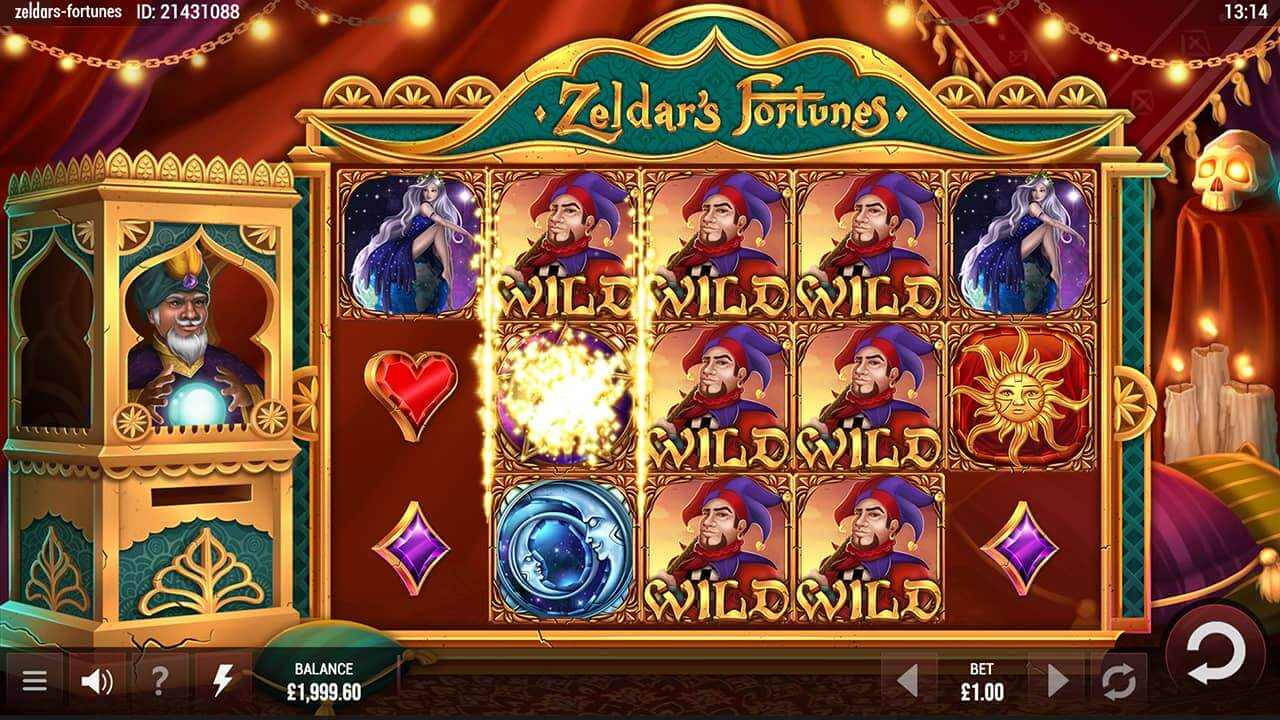 zeldar's fortunes slot