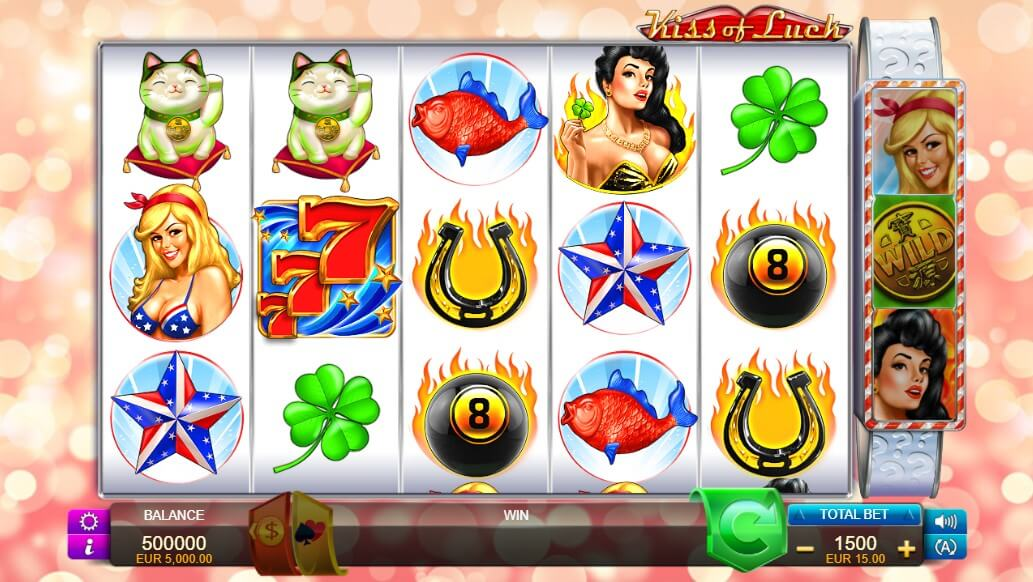 kiss of luck slot