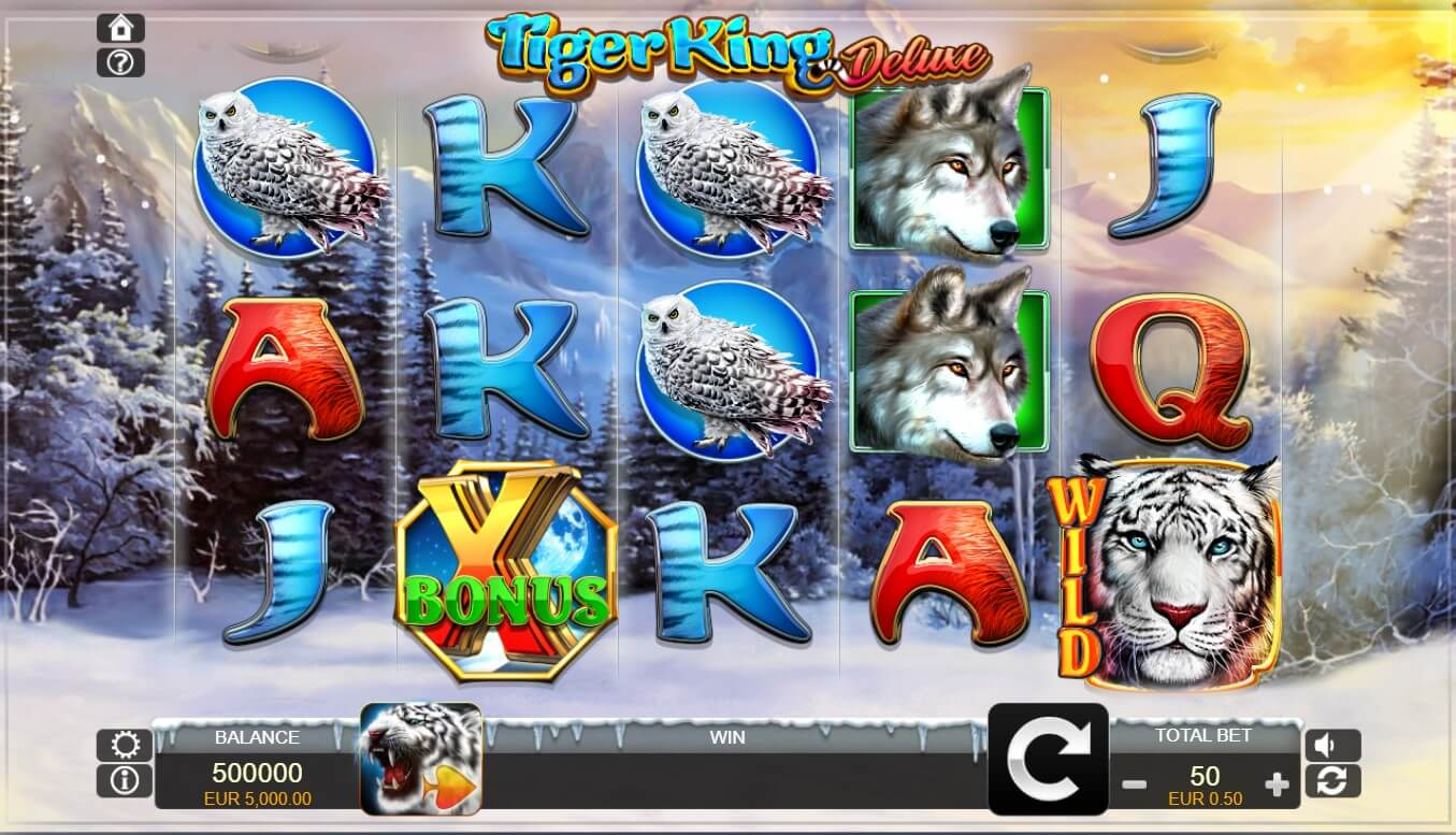 tiger king deluxe slot