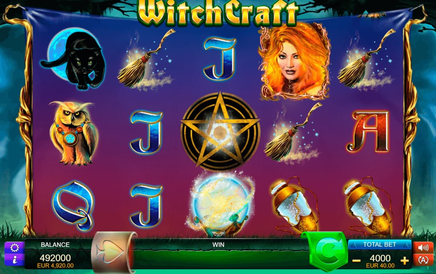 witchcraft slot
