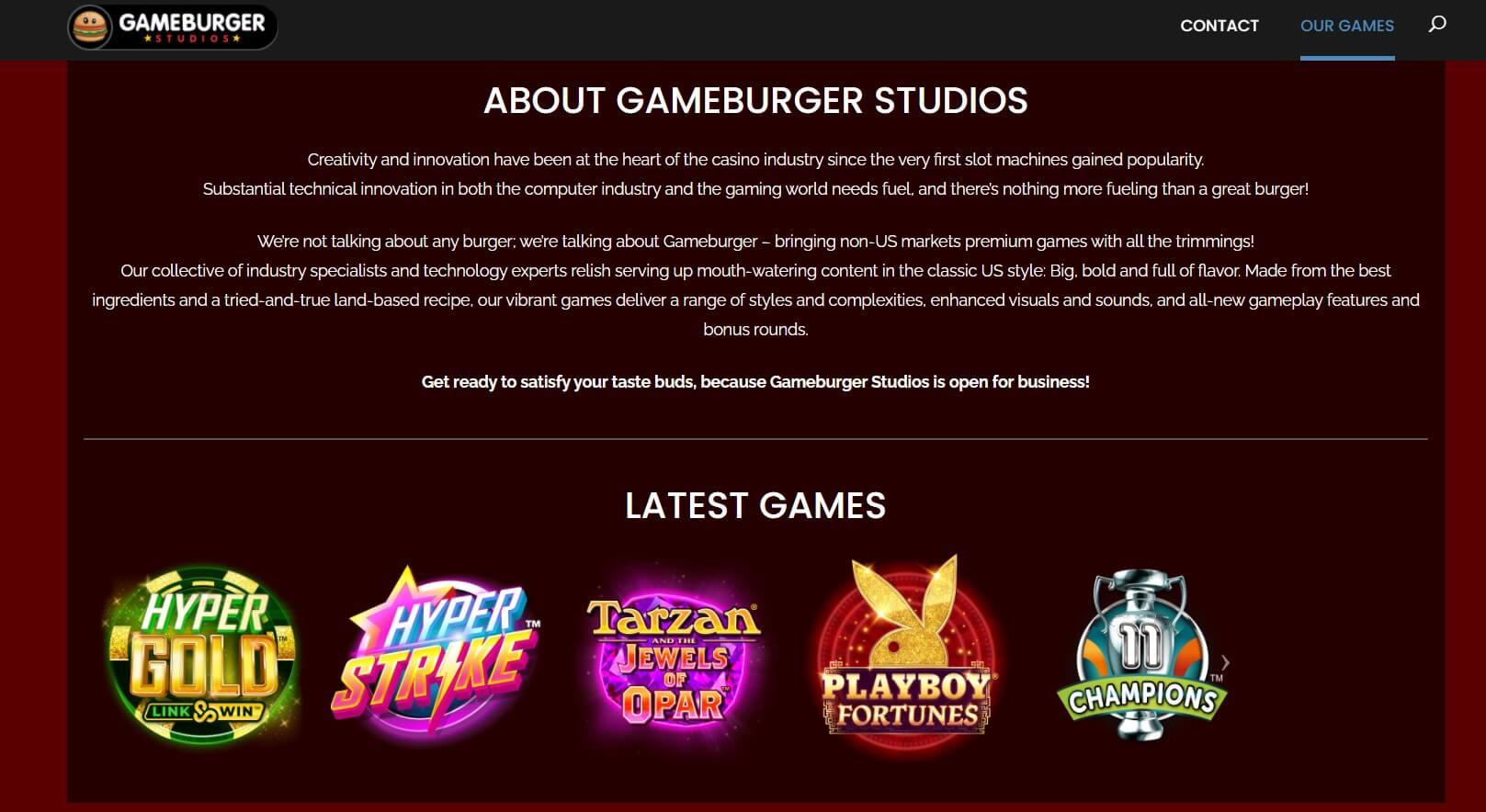 gameburger studios games