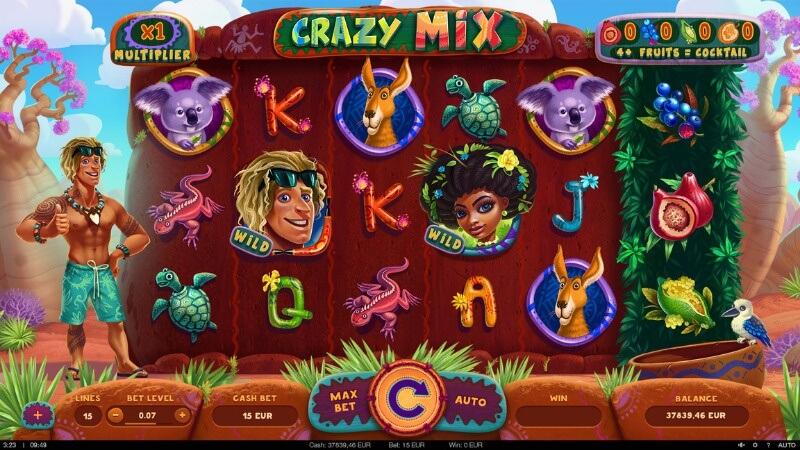 crazy mix slot