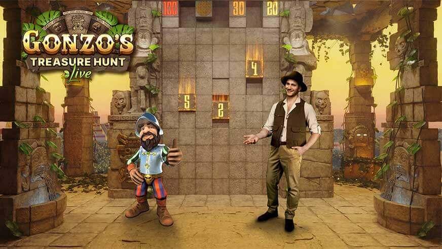 gonzo's treasure hunt live slot