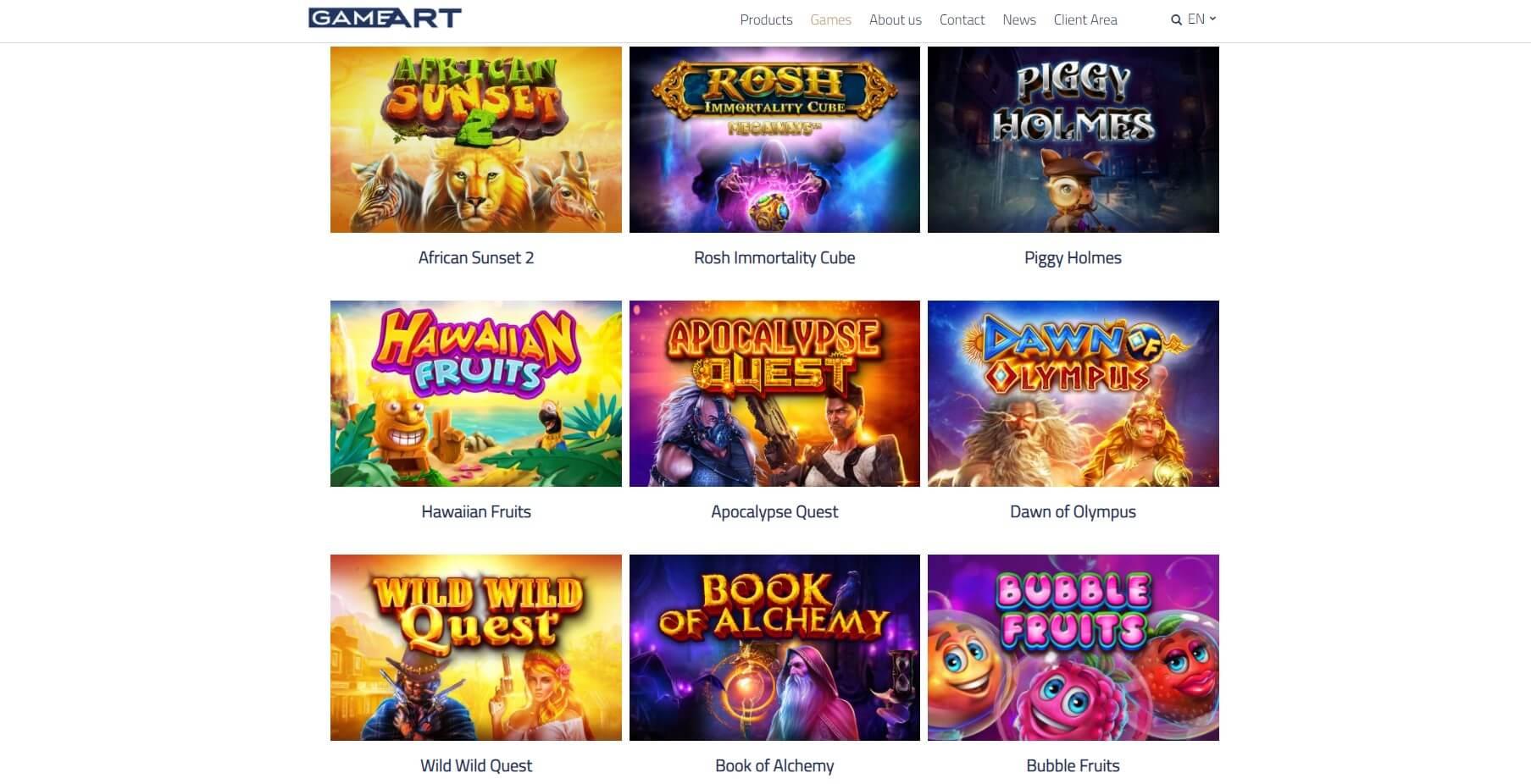 gameart slots