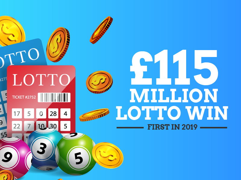 £115 Million Lotto Win – First In 2019