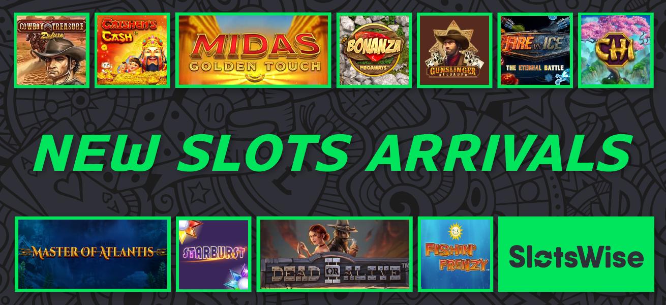 New Slots Arrivals May 2019